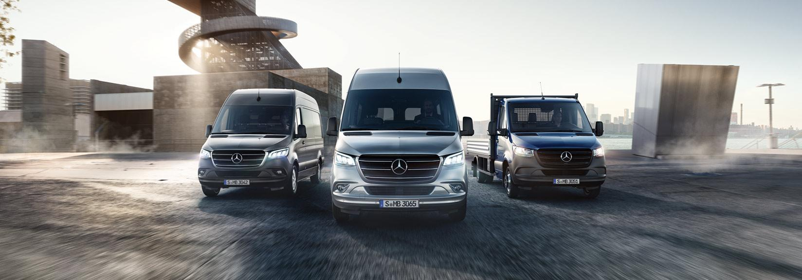 Video for the B2B purchase journey - Mercedes-Benz Sprinter